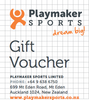 Gift Voucher $50 - Playmaker Sports