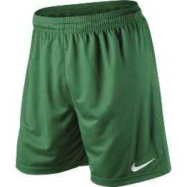 Nike Park Knit Short - Youth - Pine Green/White - Playmaker Sports