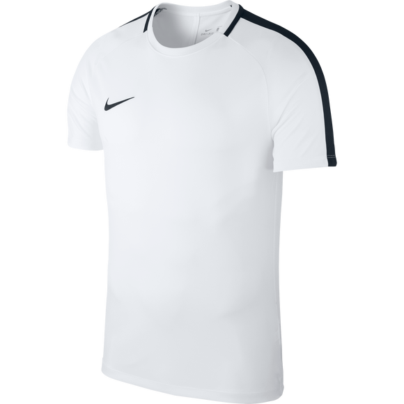 Nike Academy 18 Jersey - Youth - White / Black