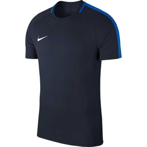 Nike Academy 18 Jersey - Adult - Obsidian / Royal Blue