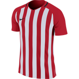 Nike Inter Striped Division 111 Jersey - University Red / White - Adult