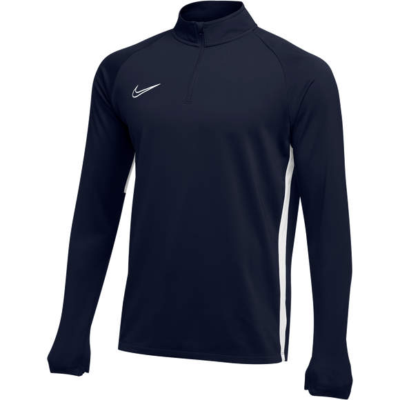 Nike Academy 19 Drill Top - Adult - Obsidian / White