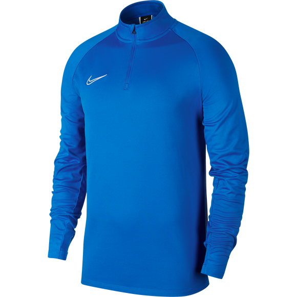 Nike Academy 19 Drill Top - Adult - Royal Blue / White