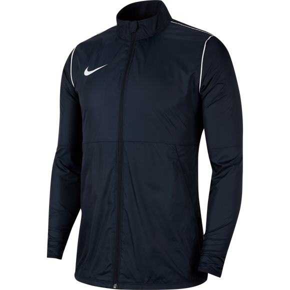 Nike Park 20 Rain Jacket - Youth - Obsidian / White