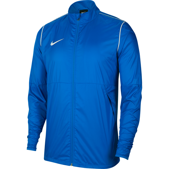 Nike Park 20 Rain Jacket - Youth - Royal Blue / White