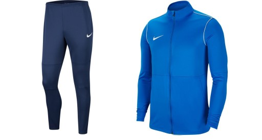 Nike Park 20 Football Tracksuit - Adult - Royal Blue / Obsidian / Obsidian