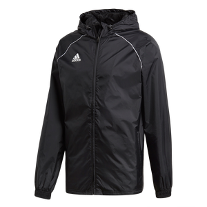 Adidas Core Rain Jacket - Adult - Black / White
