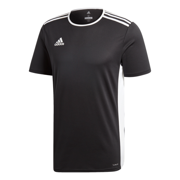 Adidas Entrada 19 Jersey - Black / White - Adult