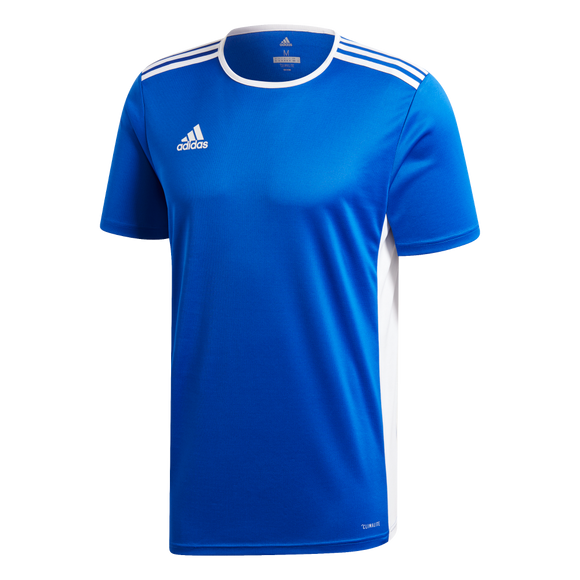 Adidas Entrada 19 Jersey - Bold Blue / White - Adult