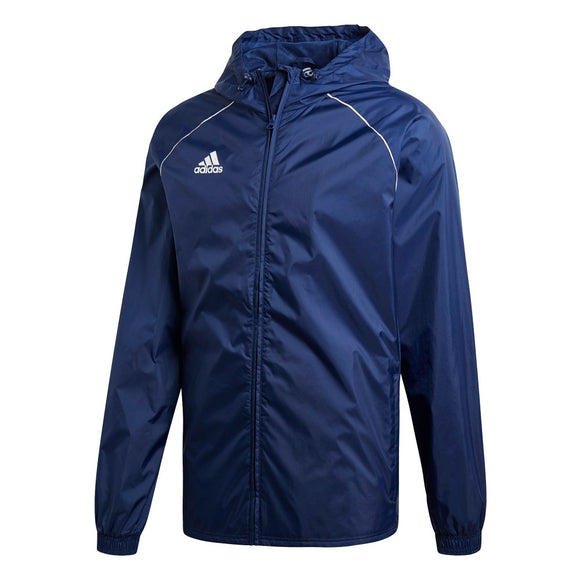 Adidas Core Rain Jacket - Adult - Dark Blue / White