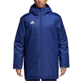 Adidas Core Stadium Jacket - Adult - Dark Blue / White