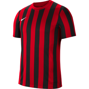 Nike Striped Division IV Jersey - Adult - University Red / Black