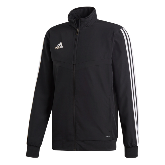 Adidas Tiro 19 Presentation Jacket - Adult - Black / White