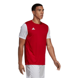 Adidas Estro 19 Jersey - Power Red / White - Adult