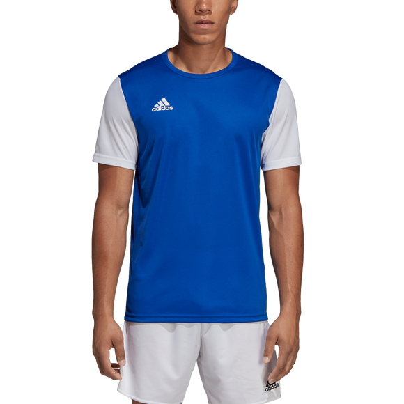 Adidas Estro 19 Jersey - Bold Blue / White - Adult