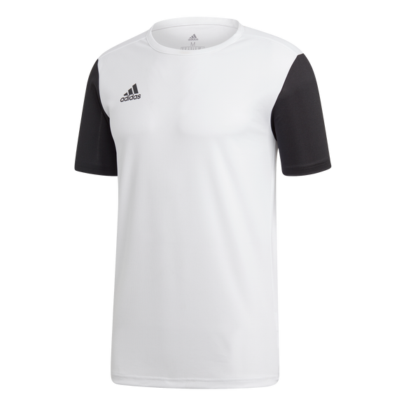 Adidas Estro Jersey - White / Black - Adult