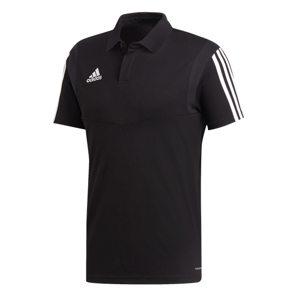 Adidas Tiro 19 Co Polo - Black / White - Adult