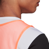 Adidas Training Bib - Adult - Signal Coral