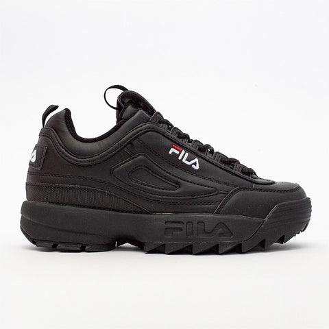 FILA Disruptor - Mens - Black / Black / White