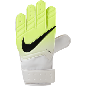 Nike Goalkeeper Match Glove - Youth - White / Volt