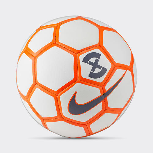 Nike Football X Menor Futsal Ball - White / Hyper Crimson / Wolf Grey