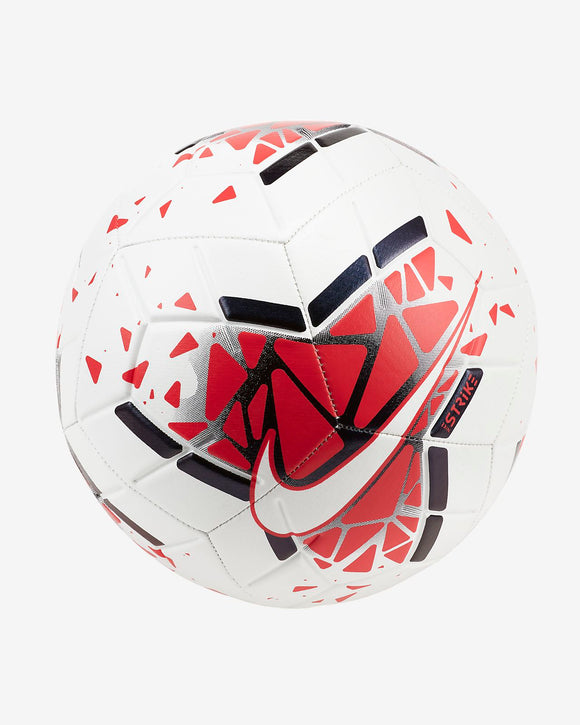 Nike Strike Football - White / Laser Crimson