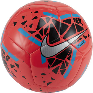 Nike Pitch Football - Laser Crimson / Black