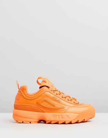 FILA Disruptor - Womens - Sun Orange