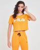 FILA Florence Crop Tee - Flame Orange