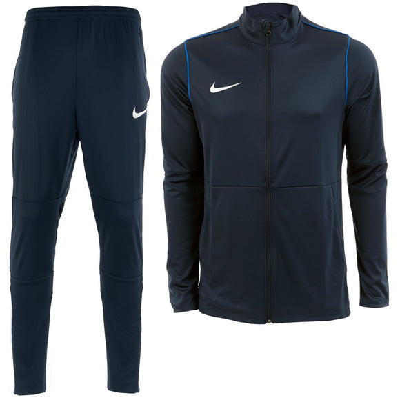 Nike Park 20 Football Tracksuit - Adult - Obsidian / Obsidian / Royal Blue