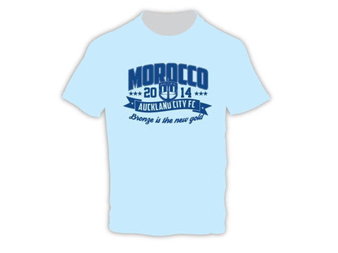 Auckland City FC Morocco 2014 Supporters Tee - Adult - Playmaker Sports