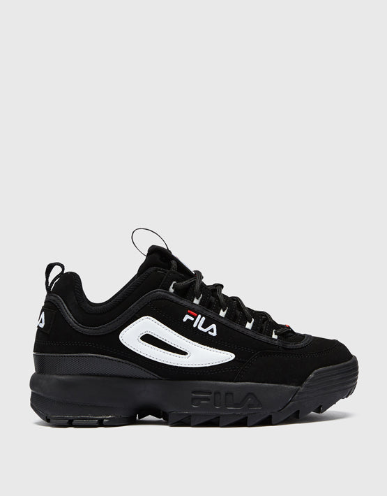 FILA Disruptor II - Womens - Black / White