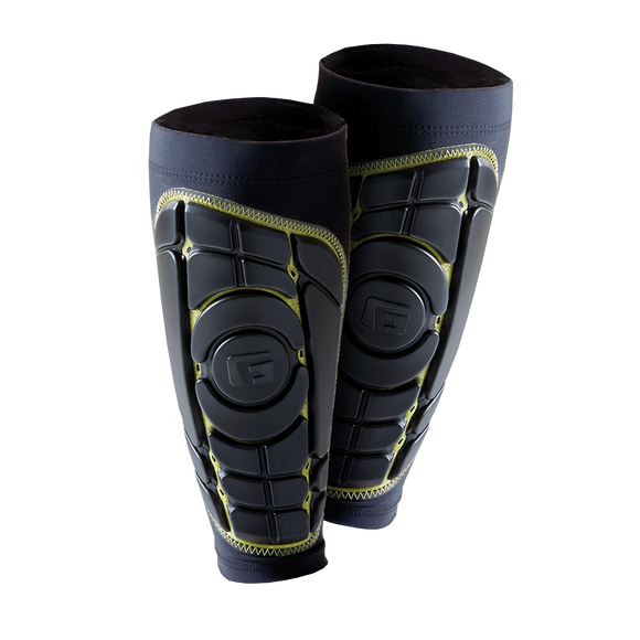 G - Form - Pro S Elite Shin Pad - Black / Yellow