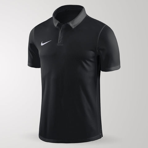Nike Academy 18 Polo - Adult - Black / Anthracite