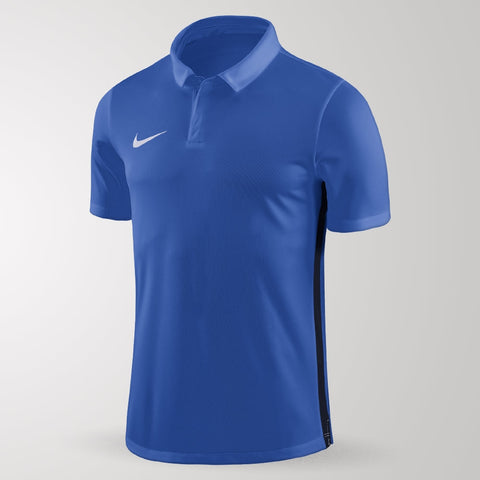 Nike Academy 18 Polo - Adult - Royal Blue / Obsidian
