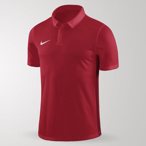 Nike Academy 18 Polo - Adult - University Red / Gym Red
