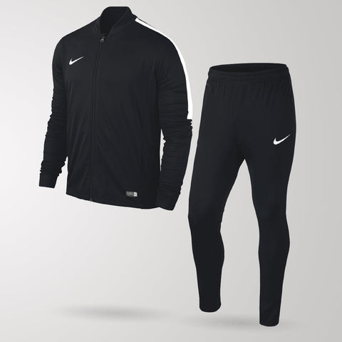 Nike Academy Football Tracksuit - Black / Black / White - Youth