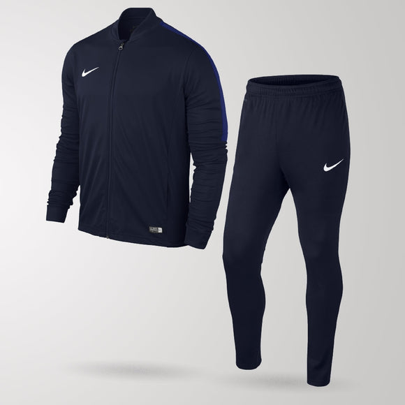 Nike Academy Football Tracksuit - Obsidian / Obsidian / Deep Royal - Youth