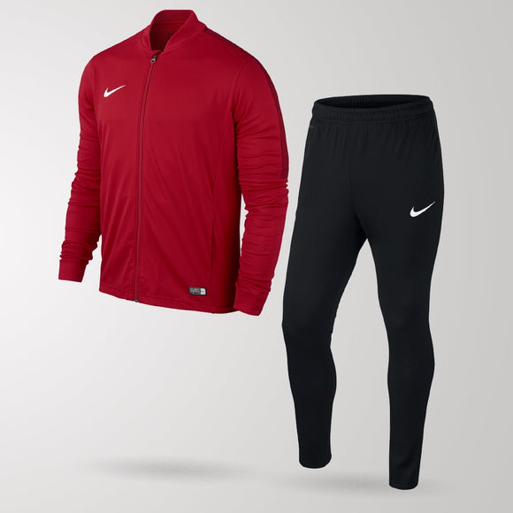 Nike Academy Football Tracksuit - University Red / Black / Gym Red - Youth