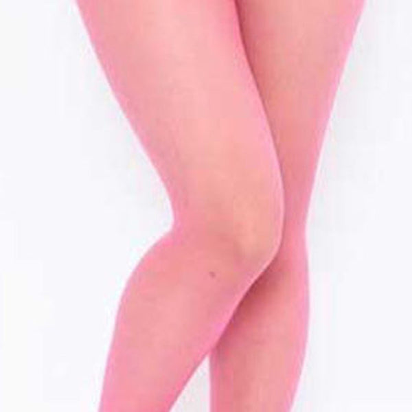Pink mens specific sheer pantyhose featuring a sheath for your family jewel,  wide comfortable waistband, an over the toe style.