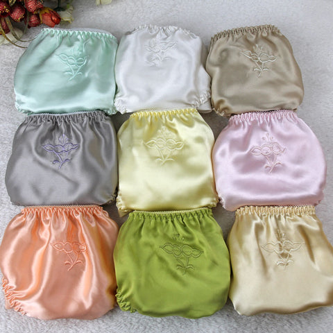 sexy silk satin panties, match up with any bras. Comes in sets of 3 panties (Colors will be mix randomly)