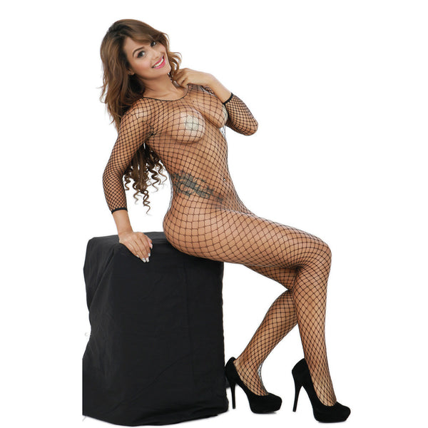Catch Me If You Can Fishnet Bodystocking