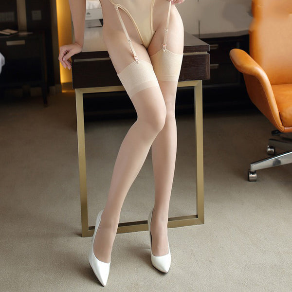 Nude Ultra Thin Nylon Stockings