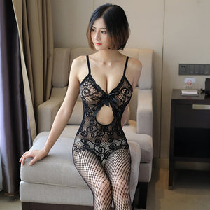 Come Get Me Fishnet Bodystocking