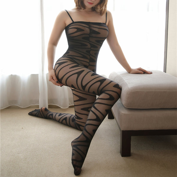 Hypnotize Me Sheer See Through Bodystocking