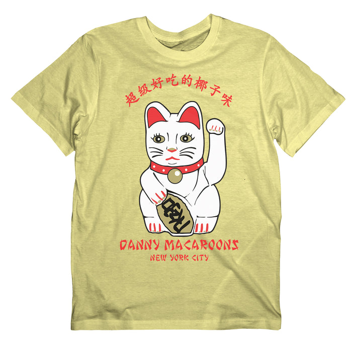 lucky cat maneki neko good luck shirt