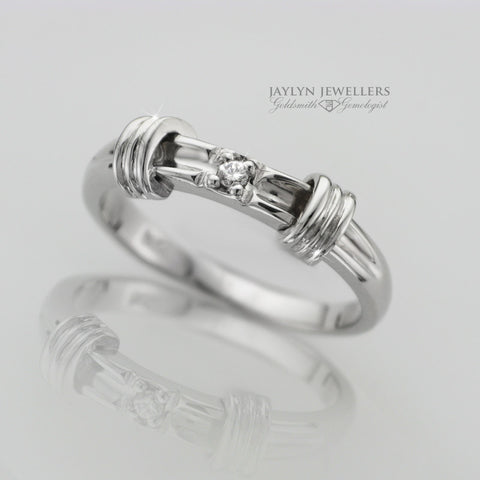 14K Classic Contemporary Diamond Ring by JayLyn Jewellers. $229.00