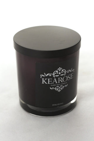 Kearose Pure Soy Candle - Large - Mangere Floral Studio
