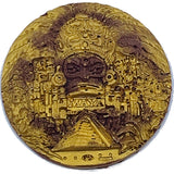 Gold Mayan Head Coin