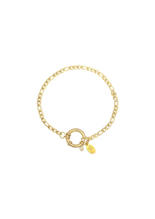 Charm Armband FAYE in Gold